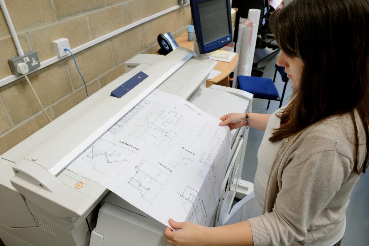 Architectural Plan Printing Large Format Kall Kwik Bury