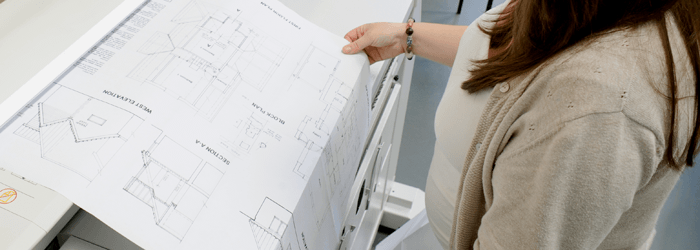 Plan printing in Bury St Edmunds
