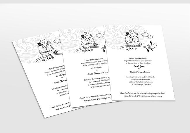 Wedding Stationery Printing
