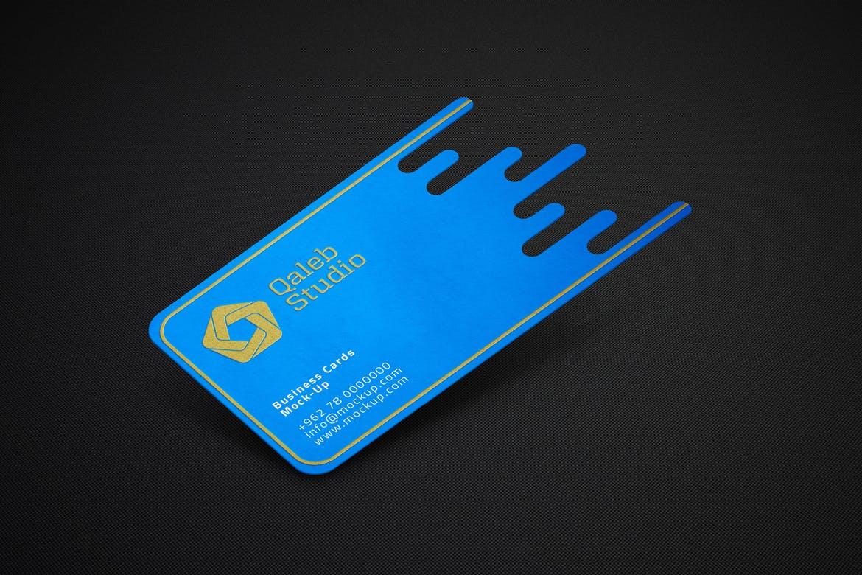 Die-cut cards