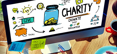 Would you like to win a brand new website for your charity (Worth up to £1800)?