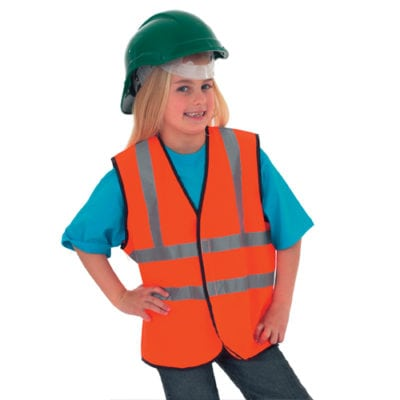 Childrens Hi-Vis Waist Coat