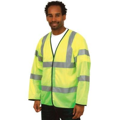 Long Sleeve Safety Waistcoat