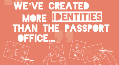 We've created more identities than the passport office