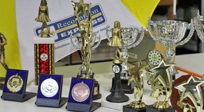 Reward success with trophies and awards
