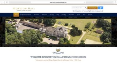 Need a new website for your school?