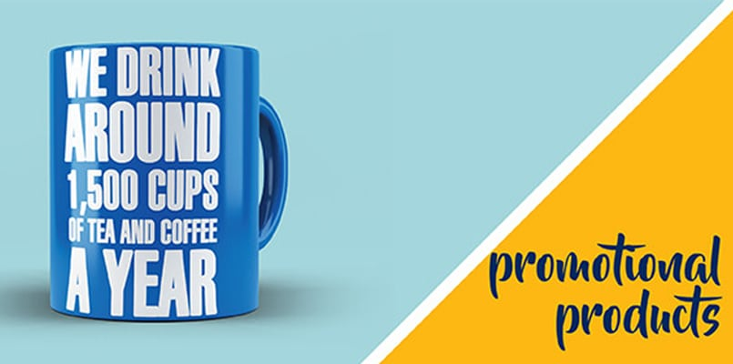 Branded mugs – a lot of exposure for your company!