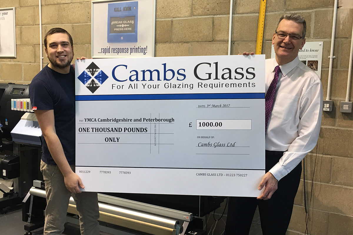 Giant Cheque Printing