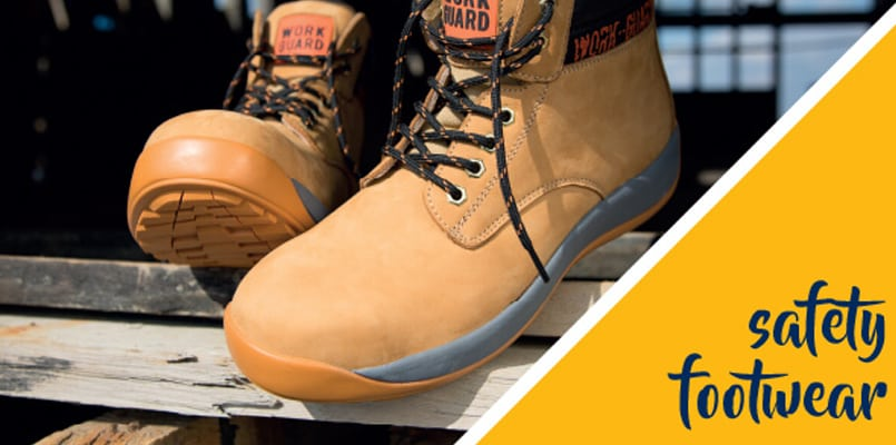 Do you buy safety footwear for your staff?