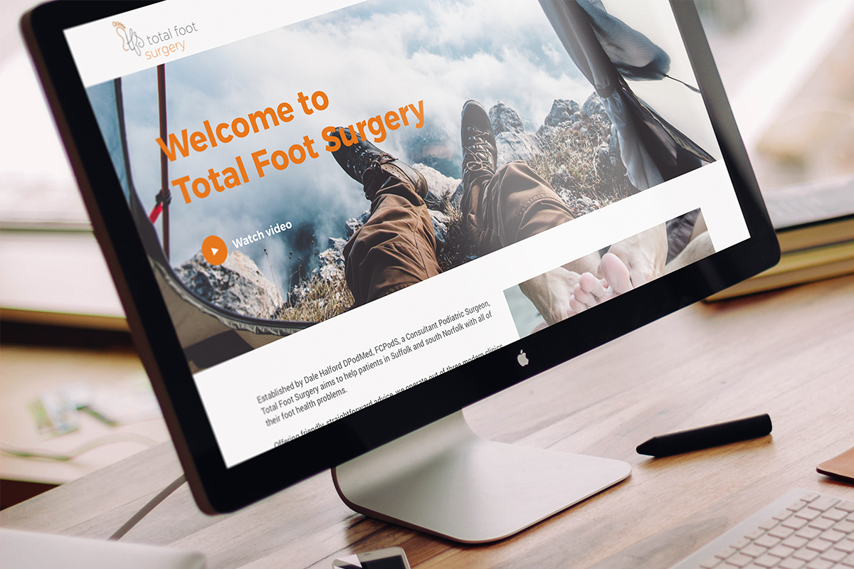 total foot surgery website