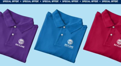 Special Offer: 25 Embroidered polo shirts for only £8.28 each
