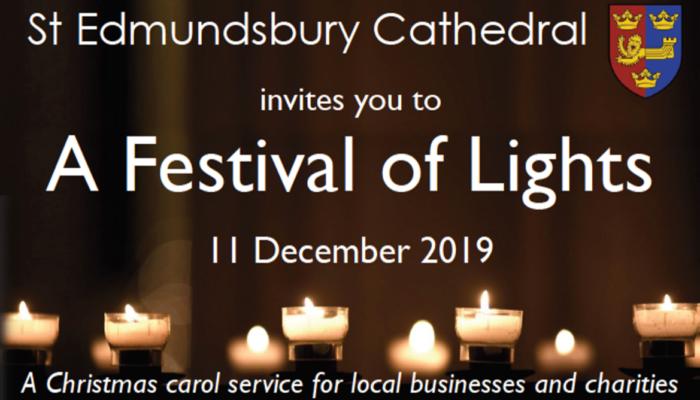 Kall Kwik to sponsor St Edmundsbury Cathedral's carol service – A Festival of Lights