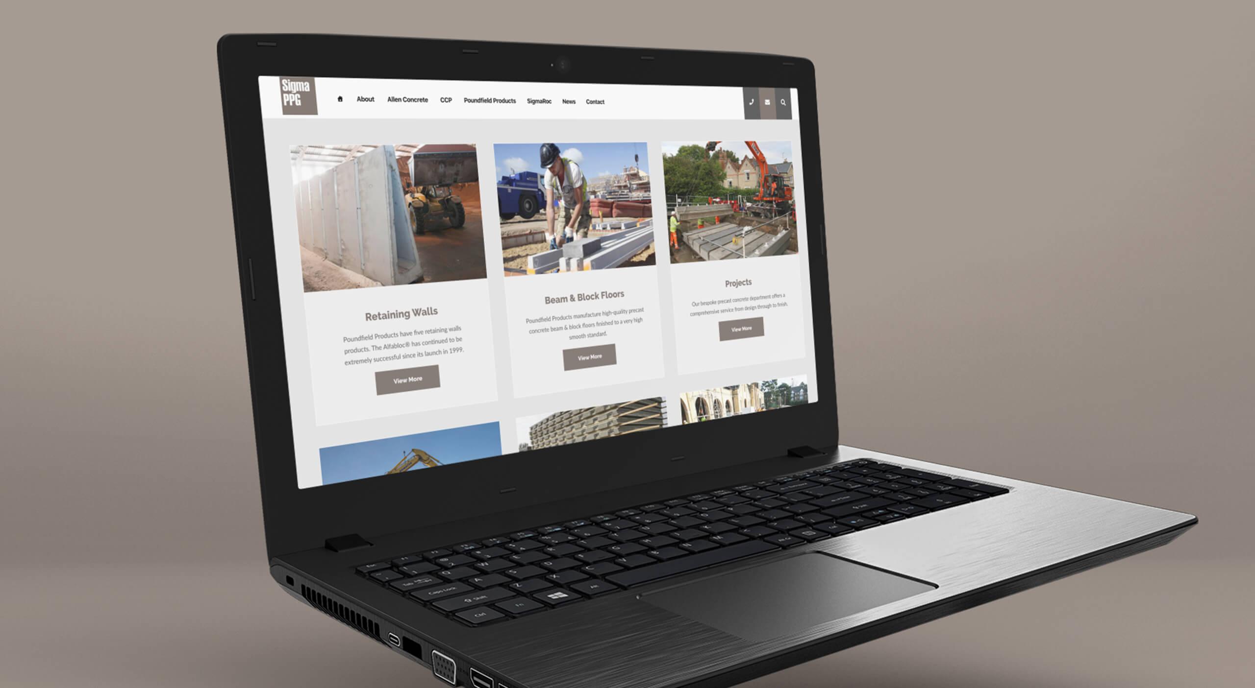 Sigma PPG Website