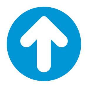 Arrow Circle Floor Sticker