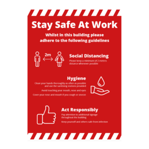 Safety At Work Signage
