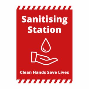Sanitising Station Signage