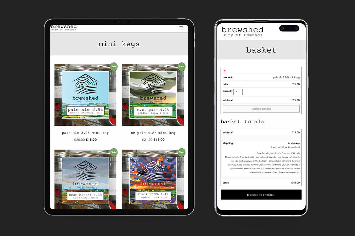 Bespoke eCommerce Website Design