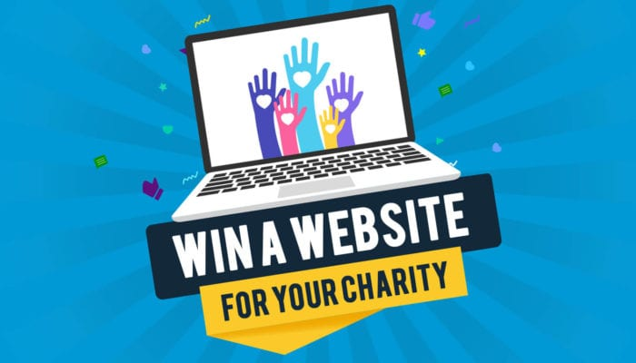 We are delighted to announce the winner of our free charity website